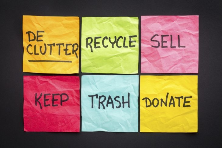 Declutter tips