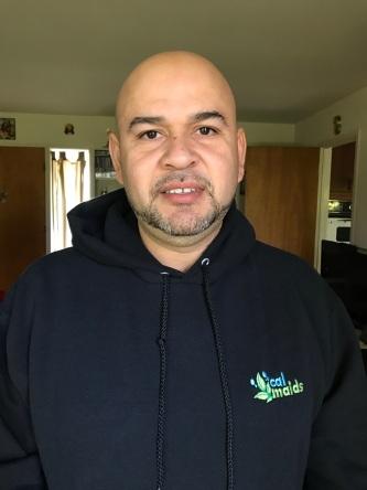 Jesus Herrera, owner of CalMaids