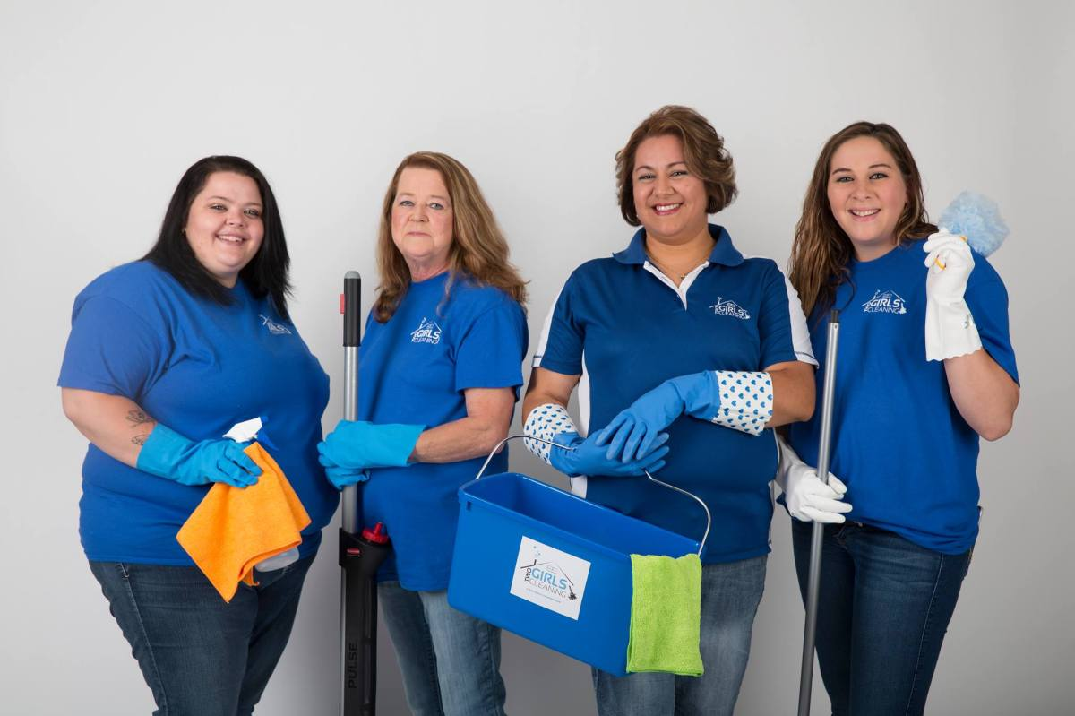 Omaha's Two Girls Cleaning cares deeply about their clients, their crew, and their community